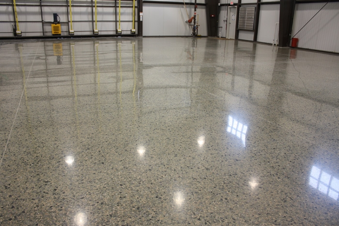 Concrete polishing services for How to clean scored concrete floors